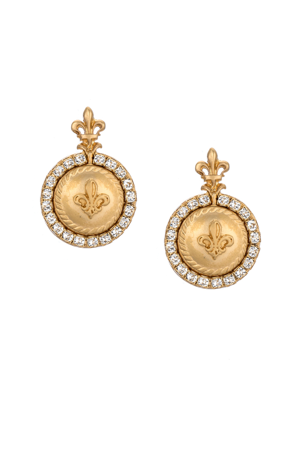 LA ROCHELLE EARRINGS GOLD