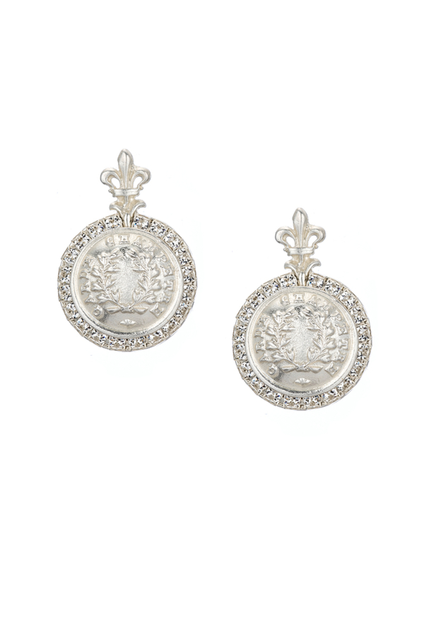 LA ROCHELLE EARRINGS SILVER