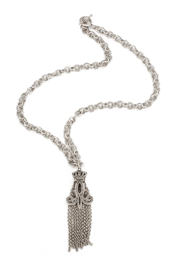PROVENCE CHAIN WITH CROWN TASSEL