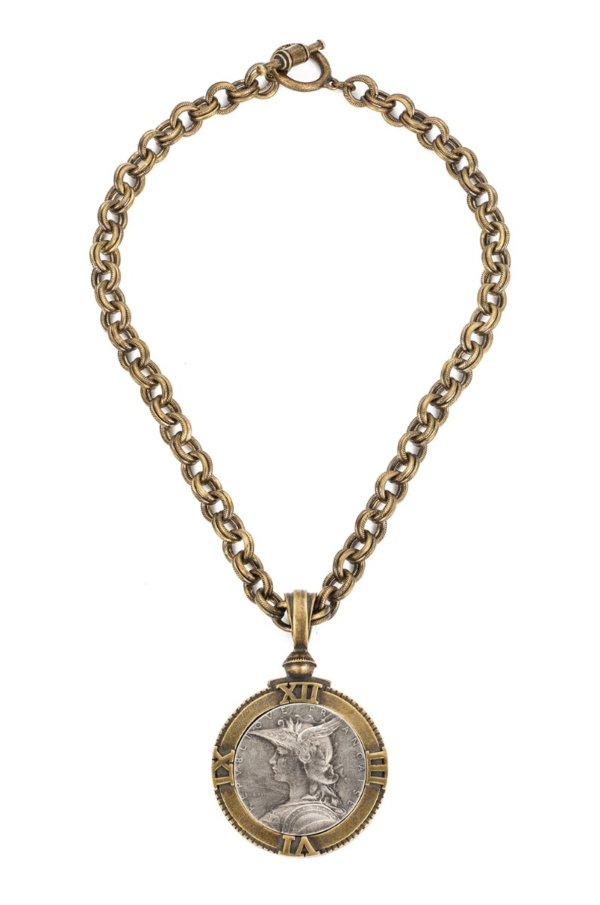 PROVENCE CHAIN WITH MINISTRY MEDALLION