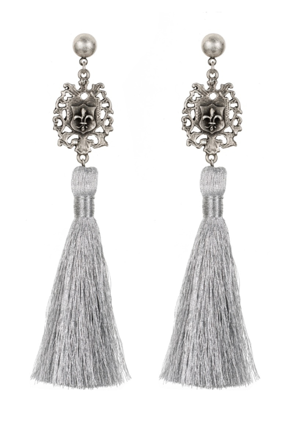 FDL FOB TASSEL EARRINGS