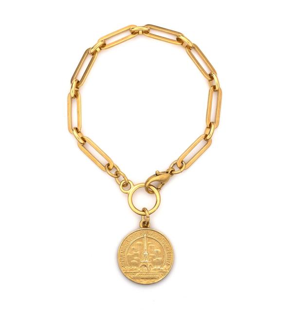 VERSAILLES EIFFEL BRACELET GOLD