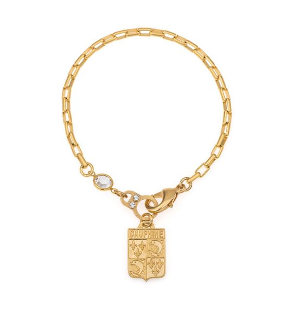 LOIRE DAUPHINE BRACELET WITH SWAROVSKI GOLD