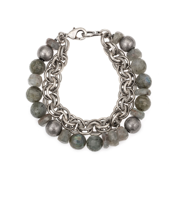 DOUBLE STRAND MOONLIGHT MIX AND PROVENCE CHAIN