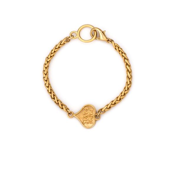 COEUR CHEVAL BRACELET GOLD