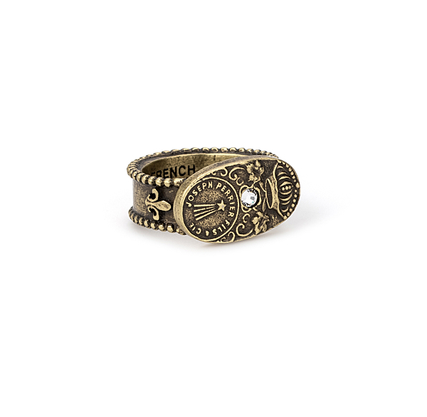 BRASS CUVEE RING