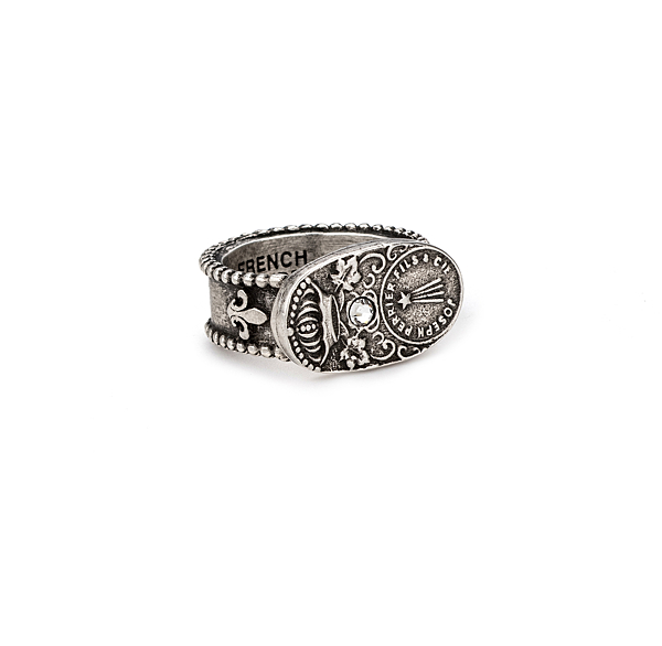 SILVER CUVEE RING