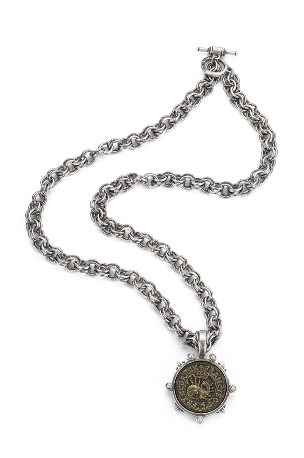 PROVENCE CHAIN WITH DRAGO MEDALLION