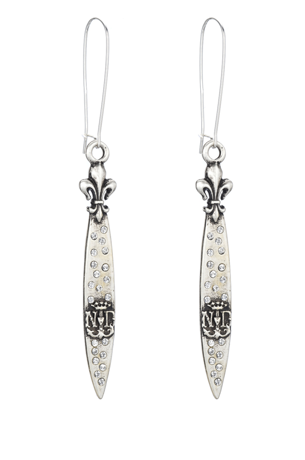 SWAROVSKI POINTU PENDANT EARRINGS