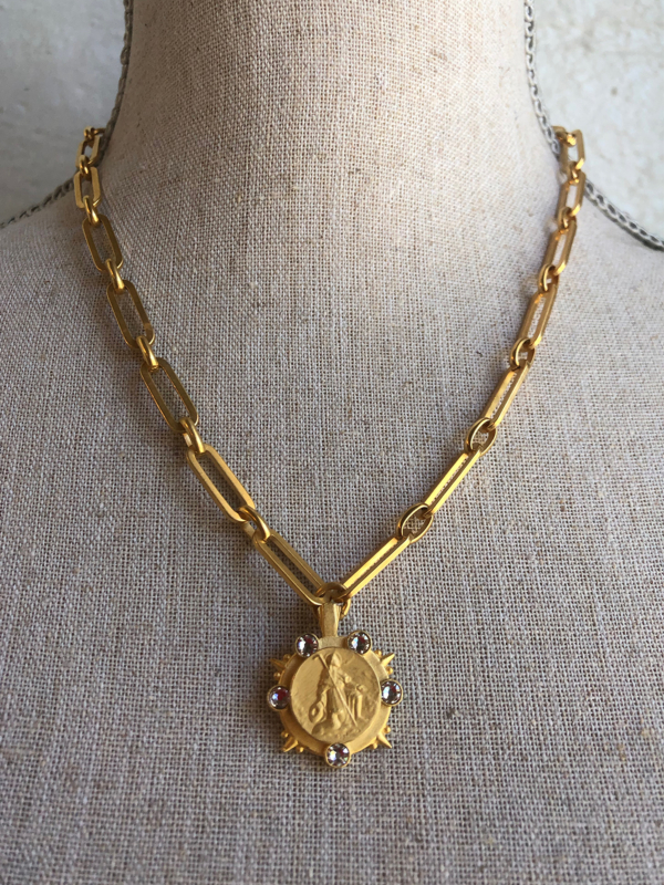 VERSAILLES MARMONDE NECKLACE GOLD