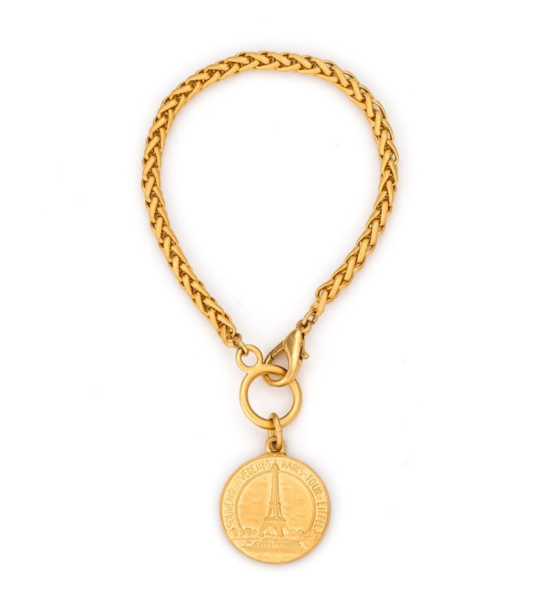 EIFFEL CHEVAL BRACELET GOLD
