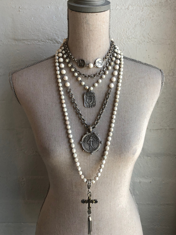 JUNE STACK UP, ALL FOUR NECKLACES INCLUDED