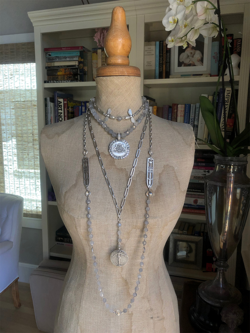MAY STACK UP, ALL FOUR NECKLACES INCLUDED