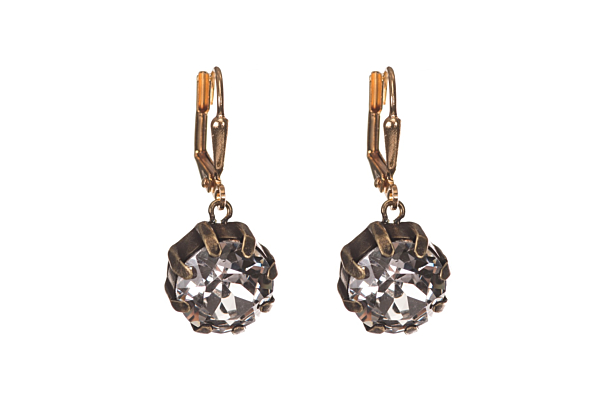 SWAROVSKI DROP EARRINGS