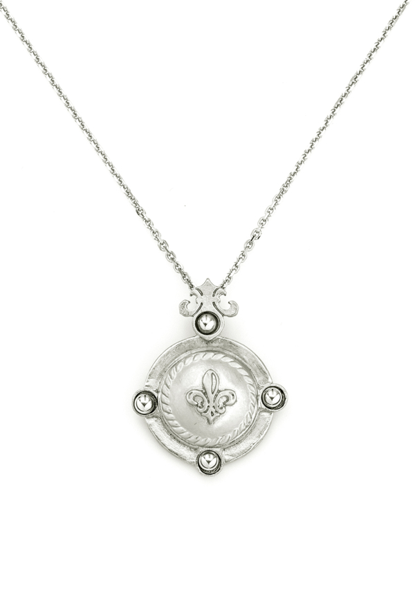 ARLES NECKLACE SILVER