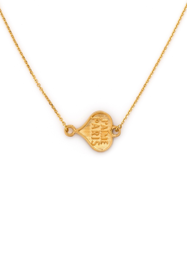 COEUR NECKLACE GOLD