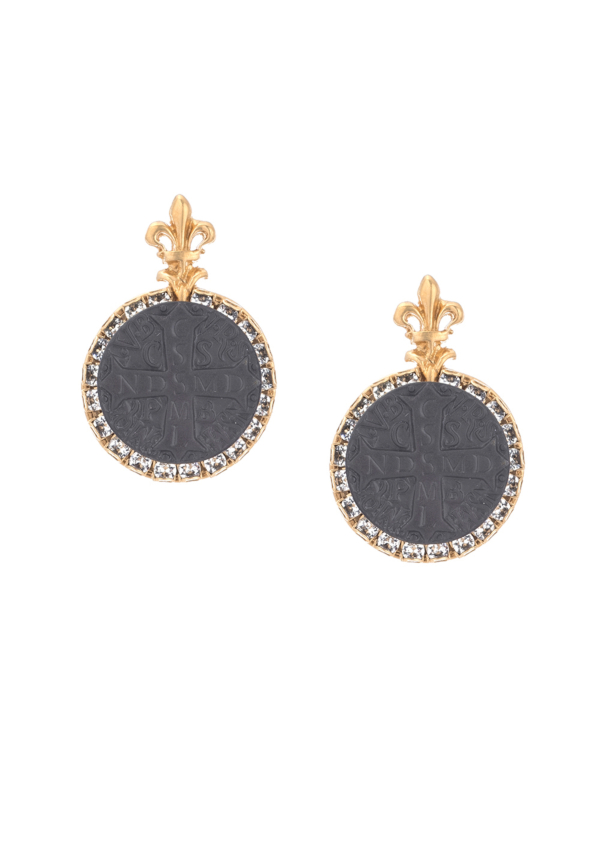 NOIR LA ROCHELLE EARRINGS GOLD