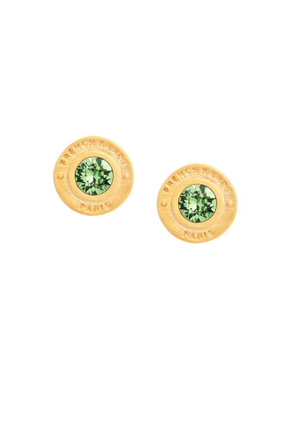 BIRTHSTONE ANNECY EARRINGS GOLD