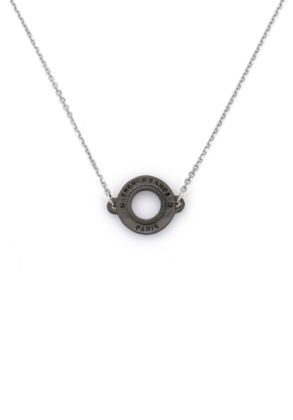 NOIR ANNECY NECKLACE SILVER