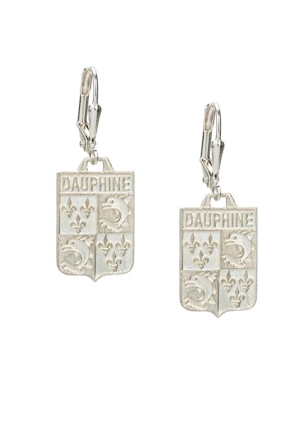 DAUPHINE EARRINGS SILVER