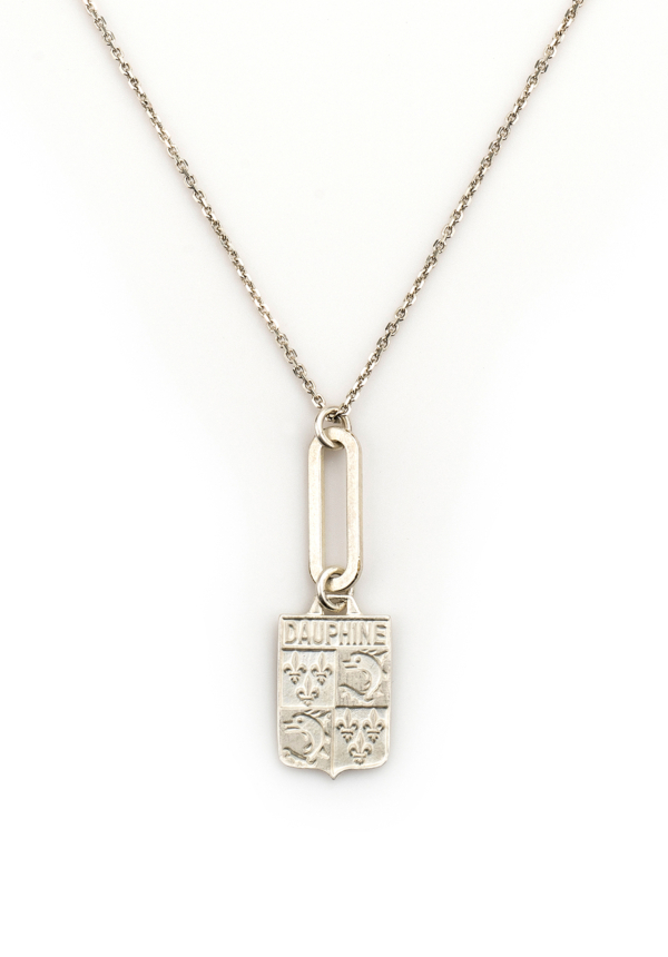 DAUPHINE NECKLACE SILVER