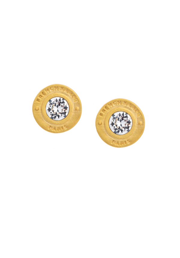 SWAROVSKI ANNECY EARRINGS GOLD
