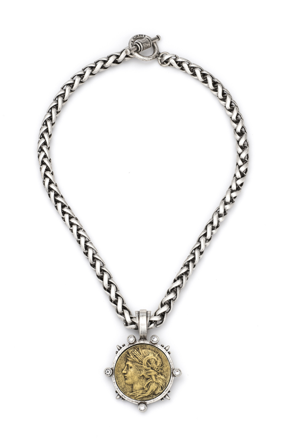 CHEVAL CHAIN WITH DUPUIS MEDALLION