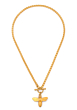 MIEL CHEVAL NECKLACE GOLD