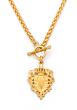 FOB CHEVAL NECKLACE GOLD