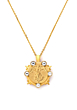 GOLD MARMONDE NECKLACE WITH CHOICE OF MEDALLION