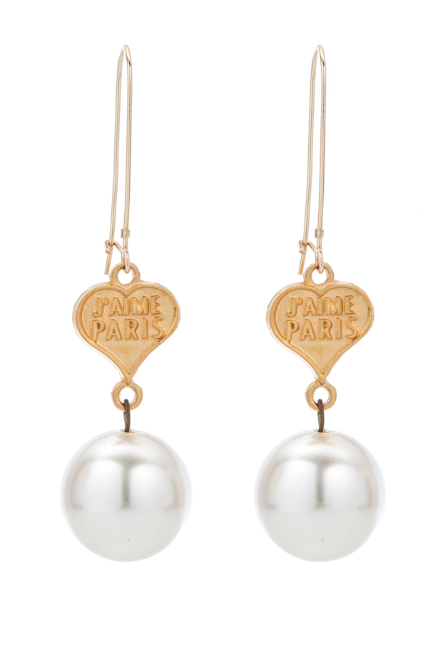 PETITE COUER AND PEARL EARRINGS
