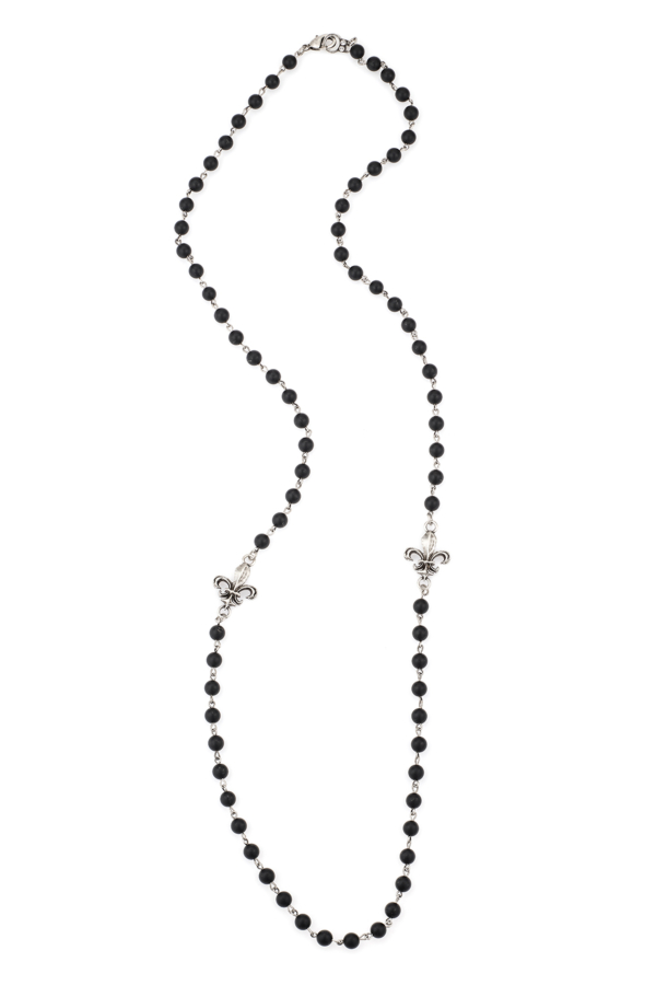 BLACK ONYX KANDE WRAPPER WITH CHOICE OF PENDANT