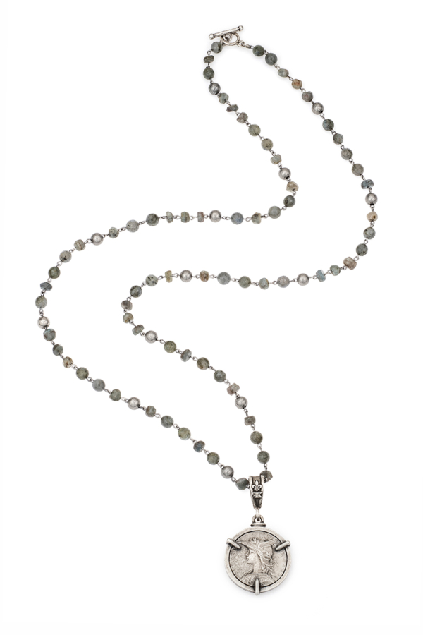 MOONLIGHT MIX WITH 3-PRONG MINISTRY MEDALLION