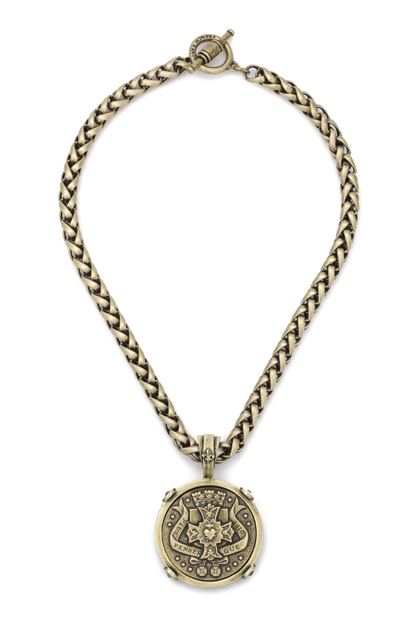 CHEVAL CHAIN WITH PENSER MEDALLION