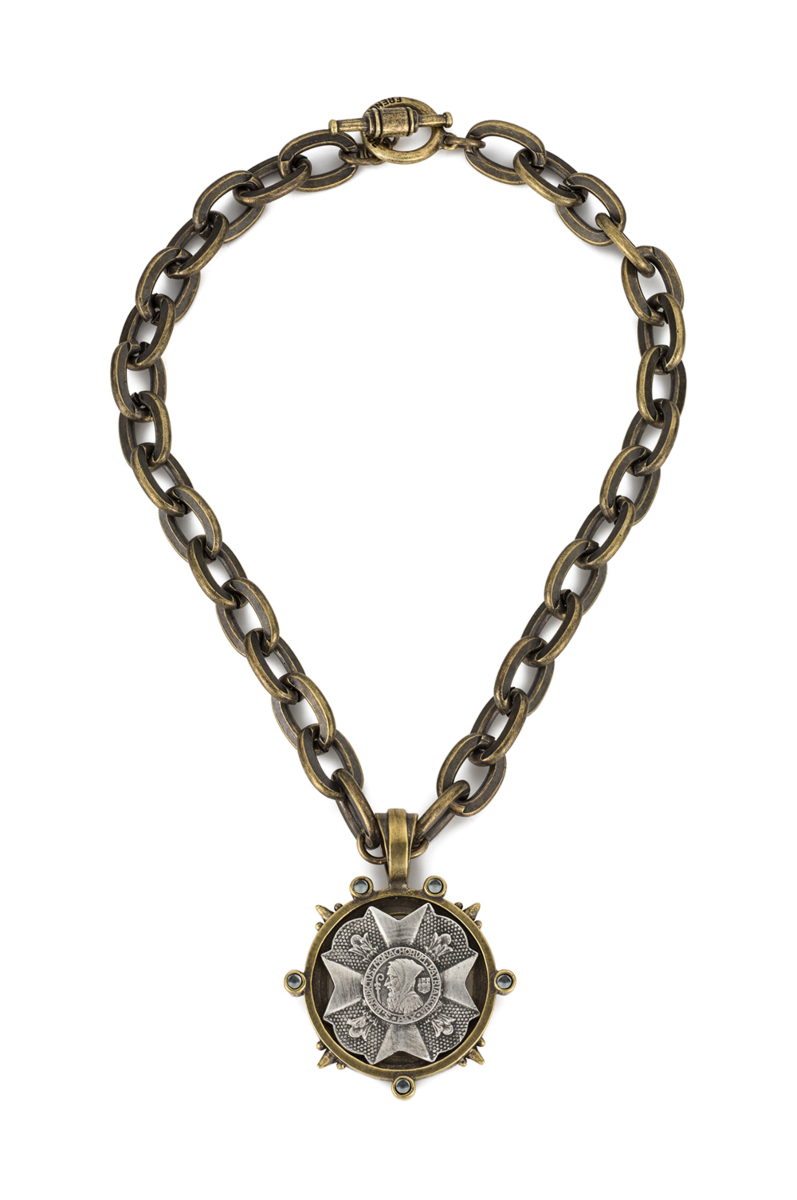 LOURDES CHAIN WITH BRAVOURE MEDALLION
