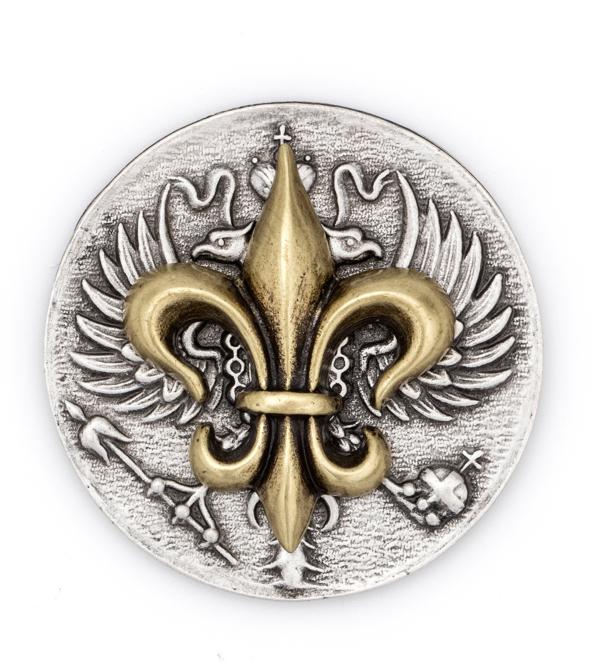 Canard Fleur Stack Silver