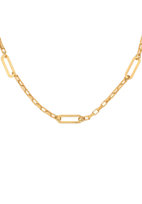 LOIRE CHOKER WITH VERSAILLES LOOPS GOLD
