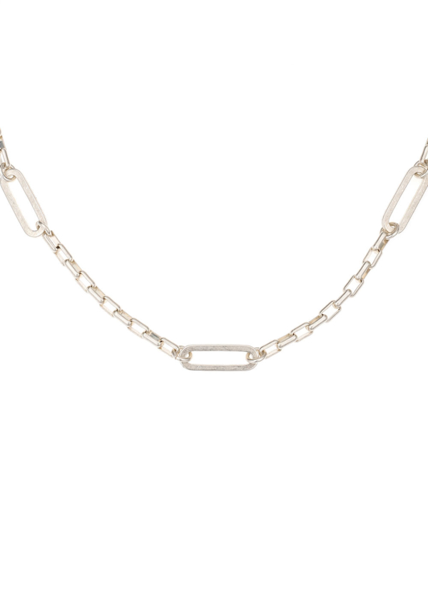 LOIRE CHOKER WITH VERSAILLES LOOPS SILVER