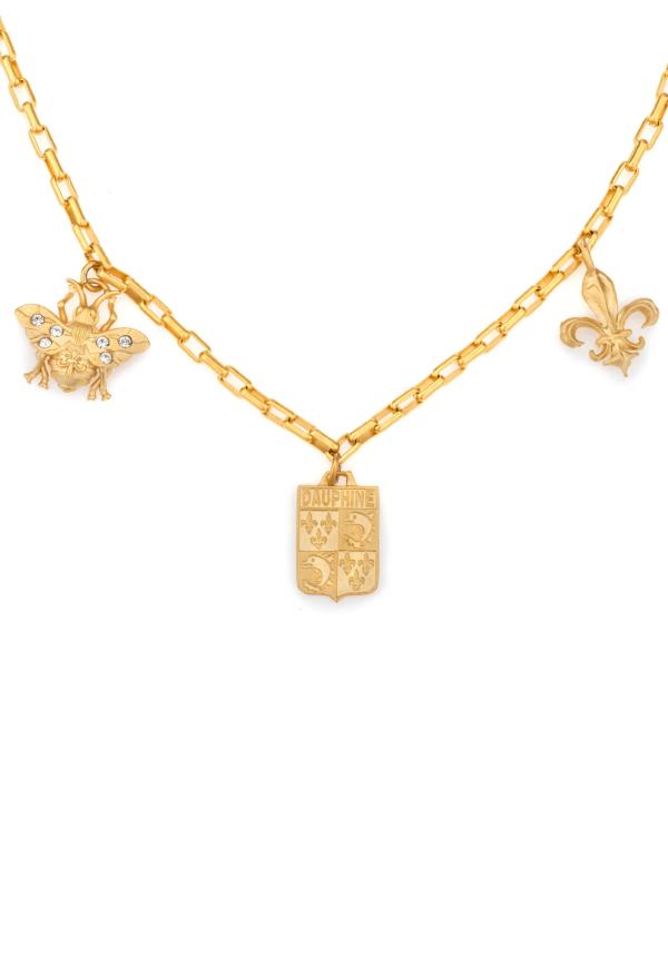 LOIRE TROIS NECKLACE GOLD
