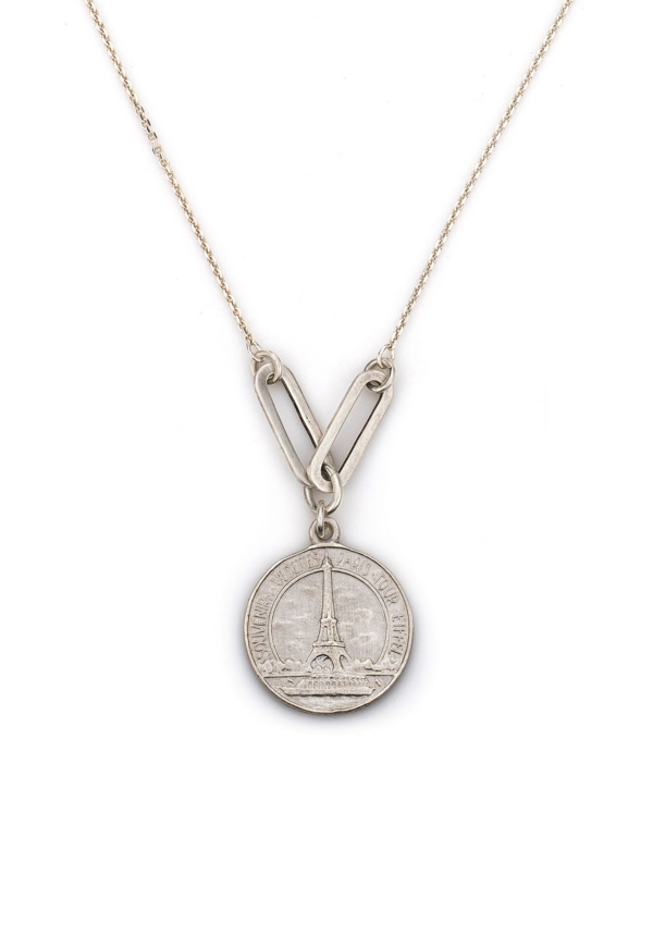 EIFFEL NECKLACE WITH VERSAILLES LOOPS SILVER