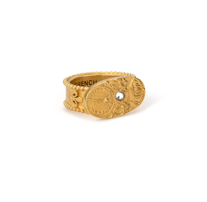 GOLD CUVEE RING