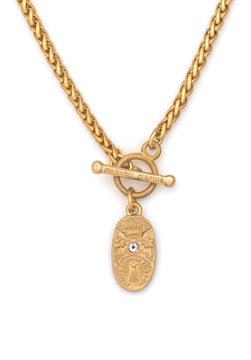 CUVEE CHEVAL NECKLACE GOLD