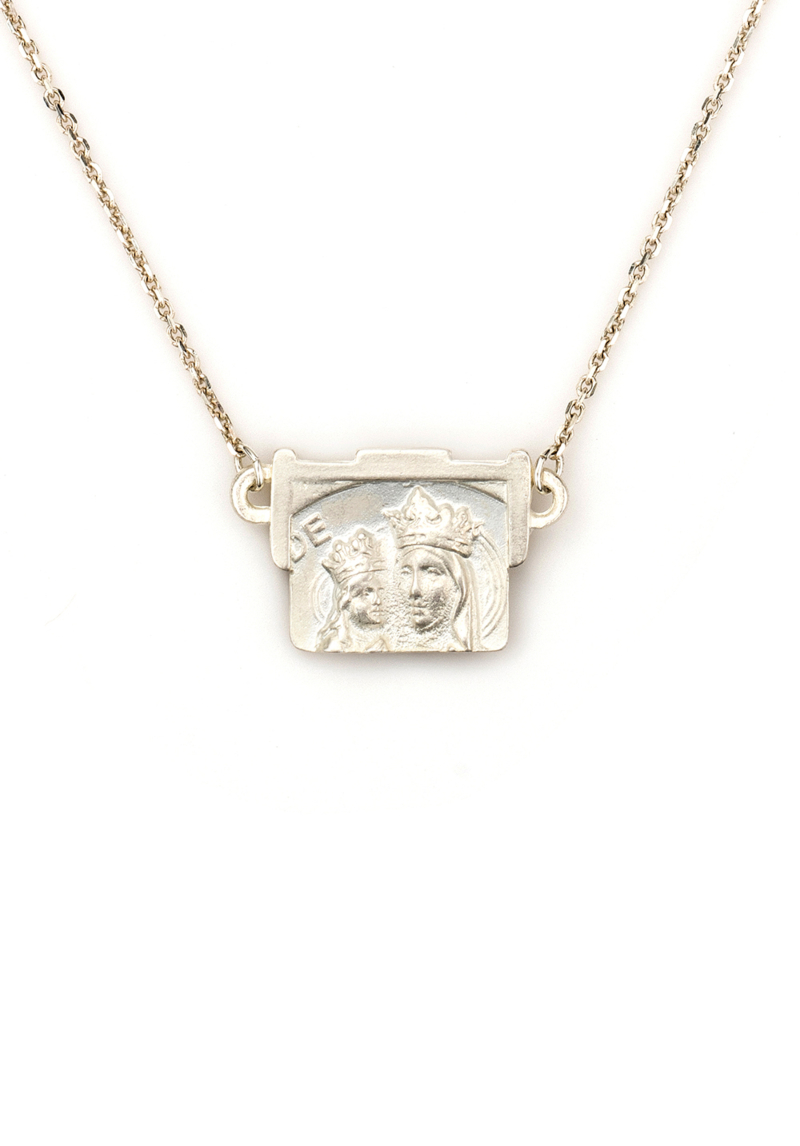 ST. ANNE NECKLACE SILVER