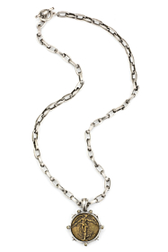 LYON CHAIN WITH L'ANGE MEDALLION