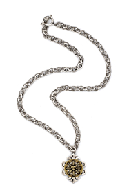PROVENCE CHAIN WITH SUN KING MEDALLION