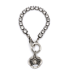 SWAROVSKI WITH IMMACULATE HEART PENDANT